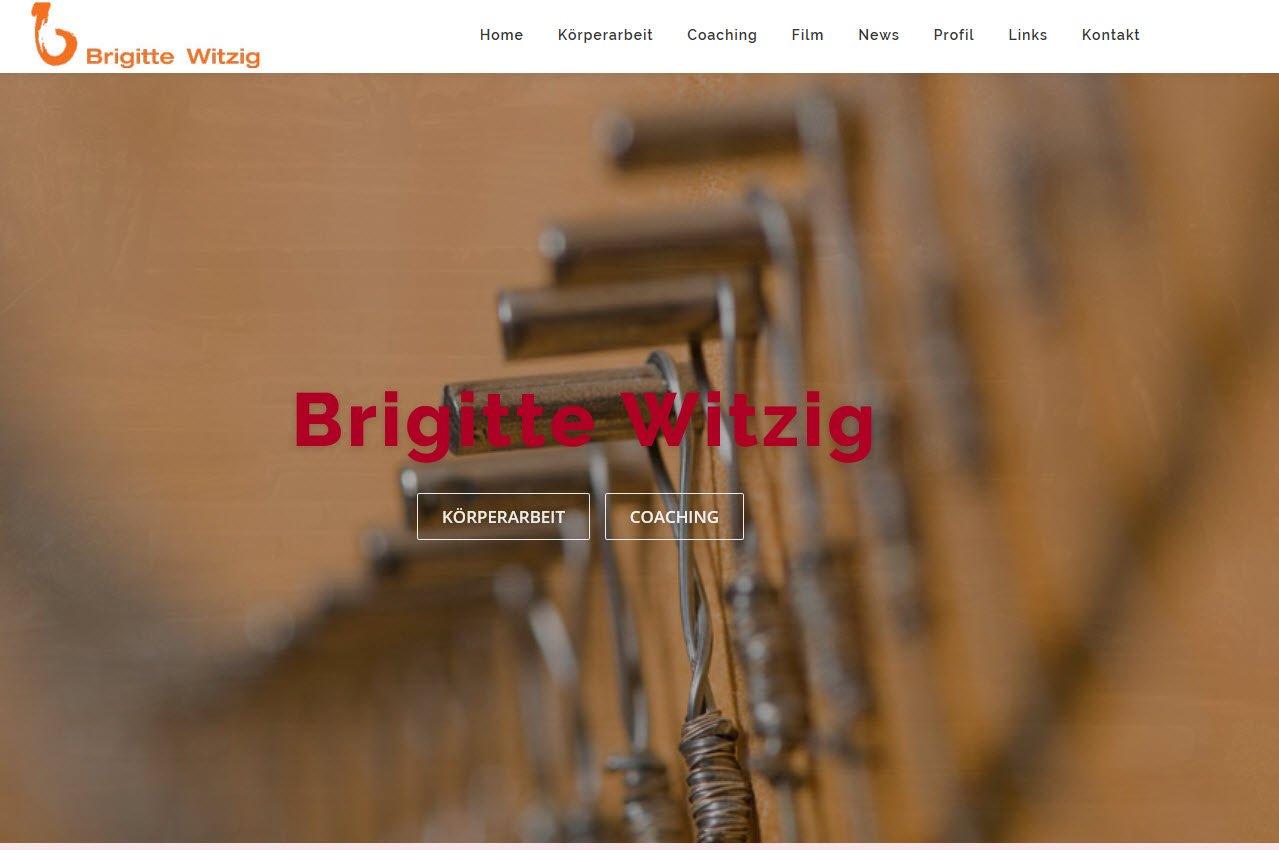 Referenz Webdesign Brigitte Witzig Coaching & Körperarbeit
