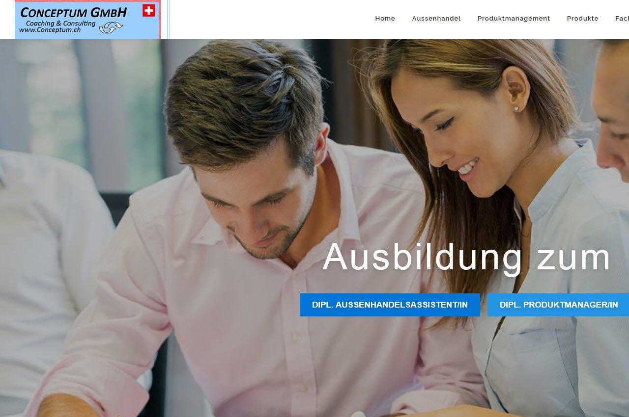 Referenz Webdesign Conceptum GmbH